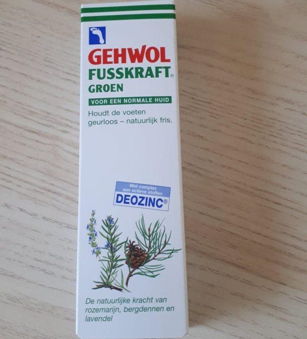 Gehwol fusskraft droge en gesprongen huid groen 1